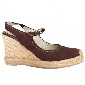 🎀5/$25🎀 FRANCO SARTO Queen Chocolate Brown Wedge